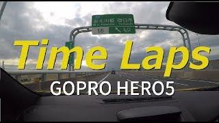【タイムラプス】沖提シーバス 行き・ルート編【GOPRO HERO5】