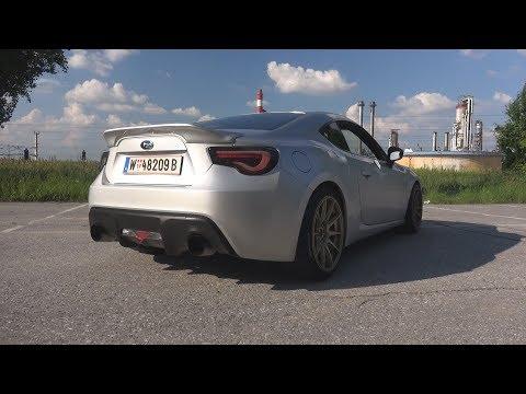 LOUD Subaru BRZ w/ Tomei UEL Sound - Revs, Backfire, Tunnel & Accelerations!