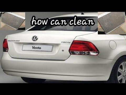 AC filter clean vento Volkswagen Autocar doctor