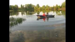 Отчаливание лодки(Красота сельской природы, Чернигов, Андреевские озера., 2012-11-25T05:19:09.000Z)