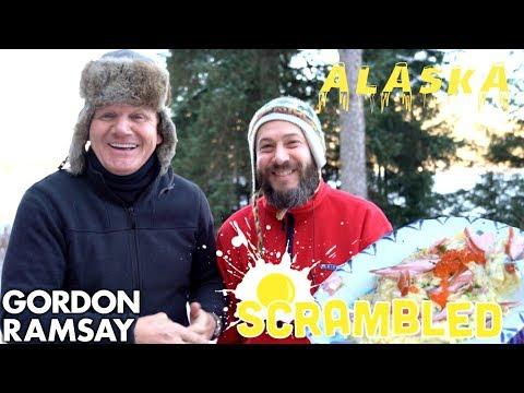 Gordon Ramsay Makes Salmon Scrambled Eggs In Alaska | Scrambled