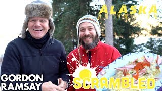 Gordon Ramsay Makes Salmon Scrambled Eggs In Alaska | Scrambled