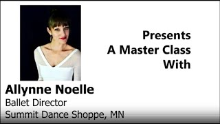 Allynne Noelle of Summit Dance Shoppe - INTERMEDIATE POINTE - Ballet En Demand