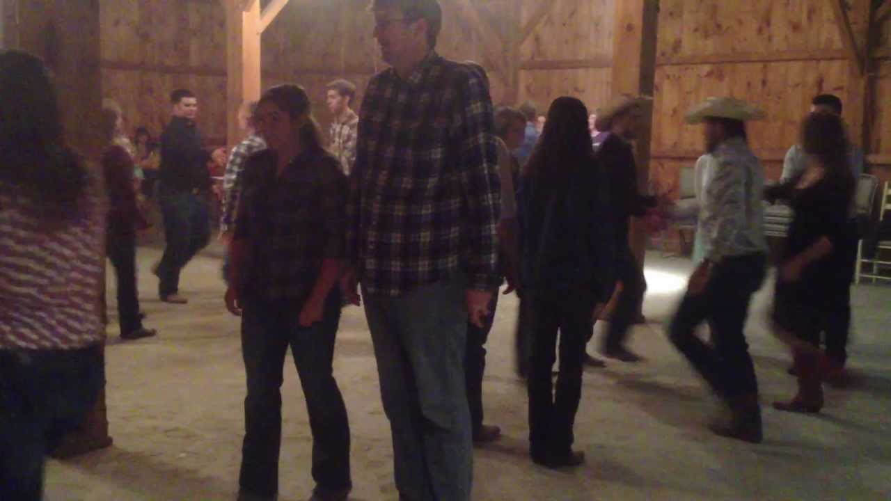 Gangnam Style Square Dance At An Amish Barn Outside Bryan