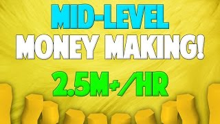 Runescape 2017/18 | Mid-Level Money Making Guide
