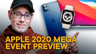 iPhone 12 Mega Event Preview! (Watch Series 6, Apple Silicon Macs, AirPods, AirTags, and more!)
