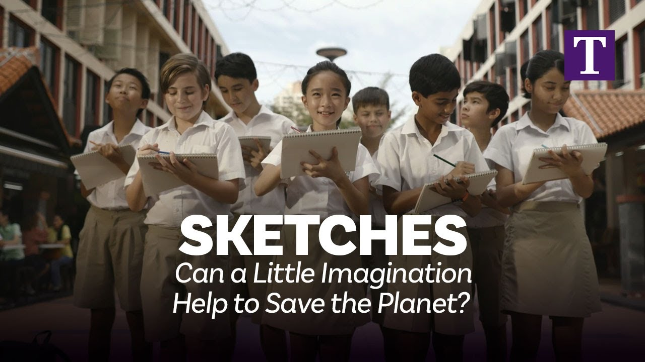 Sketches: Can a Little Imagination Help to Save the Planet?