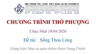 HTTL KINGSGROVE (Úc Châu) - Chương trình thờ phượng Chúa - 19/04/2020