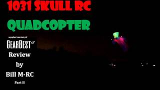 1031 Skull RC Quadcopter Drone review