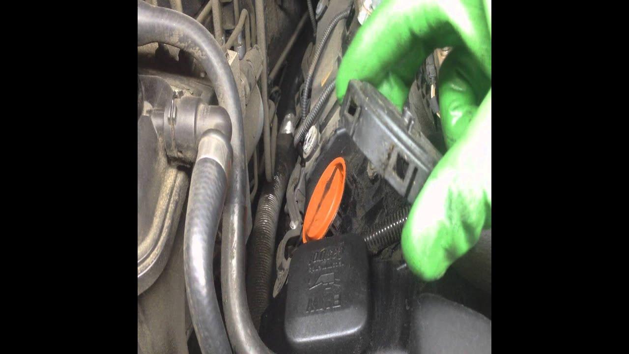 hight resolution of diy bmw e65 e66 replacing your ccv crank case vent valves on n62 bmw engine