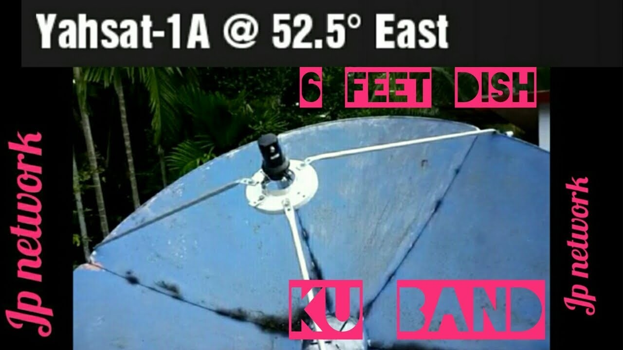 Yahsat-1A @ 52 5E - Dish Installation setup in south India  Frequency &  Signal details  FTA Channels