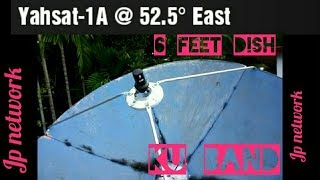 Download Video Yahsat-1A @ 52.5E - Dish Installation setup in south India. Frequency & Signal details. FTA Channels MP3 3GP MP4