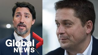 Andrew Scheer urges Conservatives to not give Justin Trudeau a