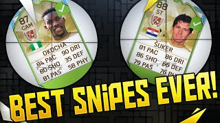 You won't believe these snipes! my best snipes so far on fifa 16