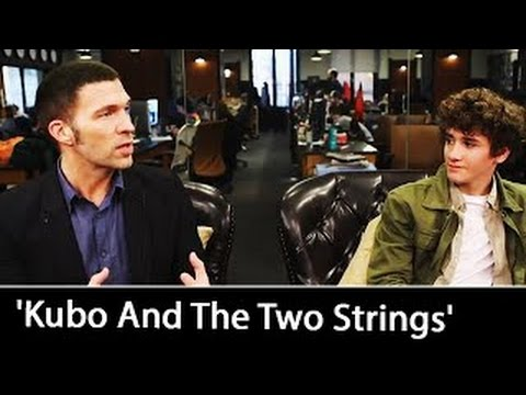 'Kubo And The Two Strings': Travis Knight & Art Parkinson   August 2016