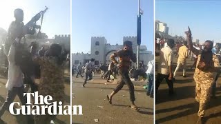 Sudan: gunfire heard at peaceful protest in Khartoum