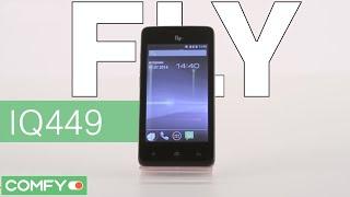 Fly IQ449 - доступный смартфон - Видеодемонстрация от Comfy