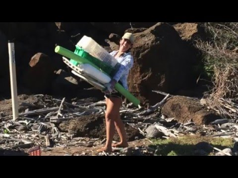 Kahoolawe Marine Debris Cleanup Video News Release HD