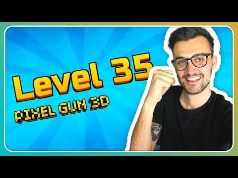 Level 35 erreicht! Das Ende ist nah! | Pixel Gun 3D