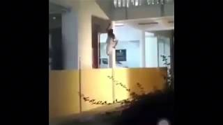 Real ghost caught on CCTV camera In BANGALORE HOSPITAL | real ghost climbing hospital