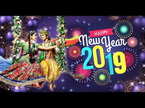Happy New Year Krishna Image 18