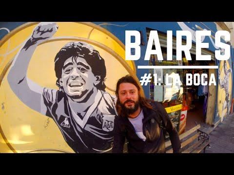 I diari di Buenos Aires: #1 La Boca Trip Therapy GoProHero HD