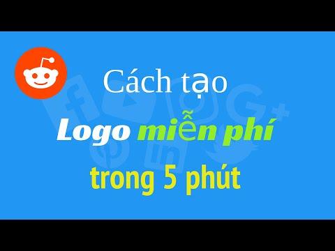Cách thiết kế Logo miễn phí đẹp và chuyên nghiệp trong 5 phút | Cong Nghe Ngay Nay