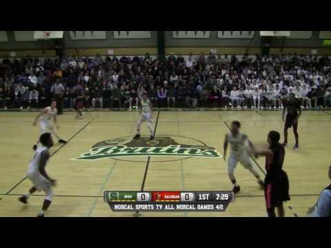 St. Patrick-St. Vincent vs Salesian College Preparatory Boys High School Basketball GAME LIVE 2/7/17