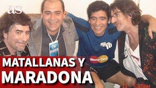 La historia de una foto y el recuerdo de Matallanas a Maradona | Diario AS