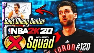NO MONEY SPENT SQUAD!! #120 | This 3K MT GOAT Is The BEST CHEAP CENTER In NBA 2K20 MyTEAM!!