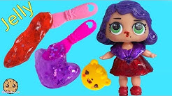 Jelly Slime !! LOL Surprise Doll Loves Num Noms Surprise Blind Bags