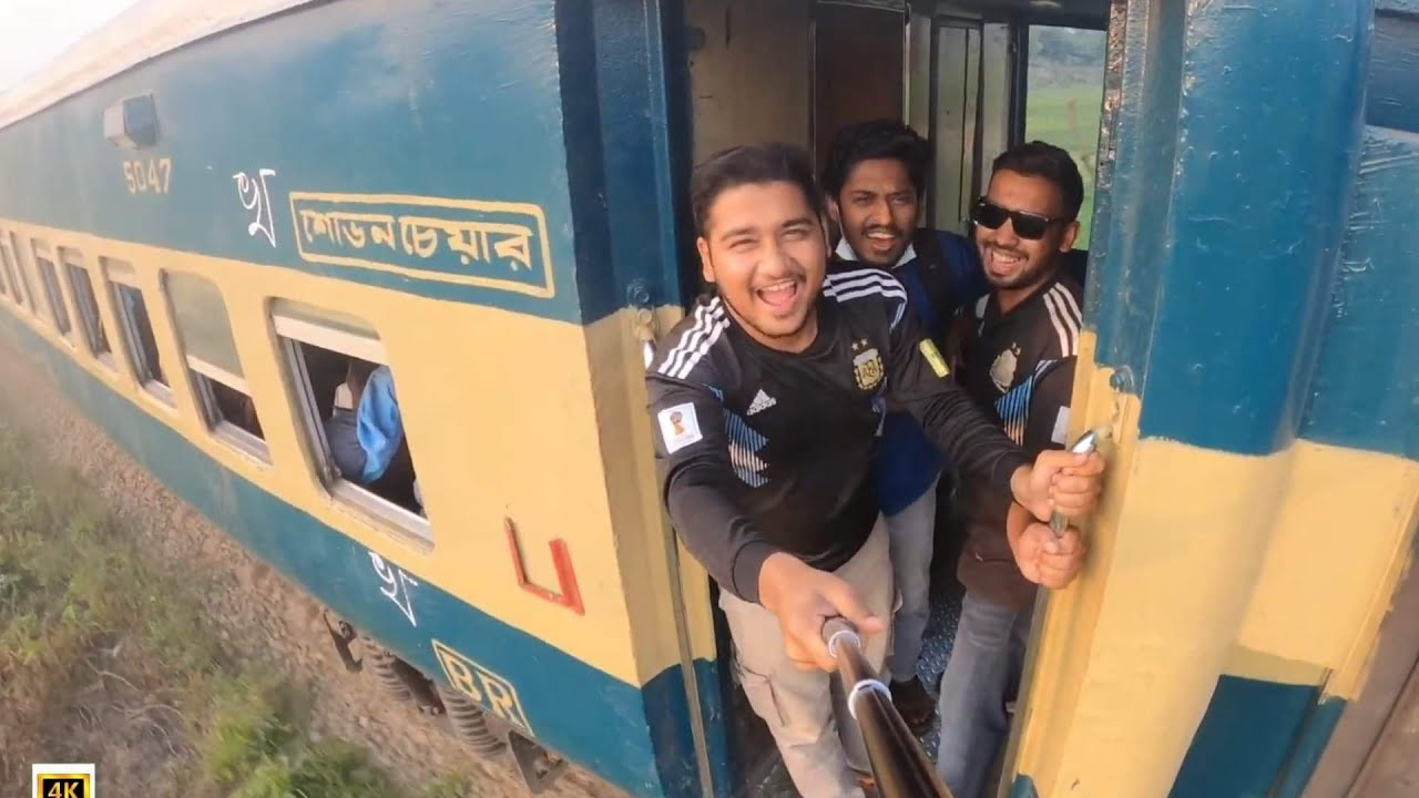 Journey To Dhaka with Kishoreganj Express  || Gopro Videos 4k