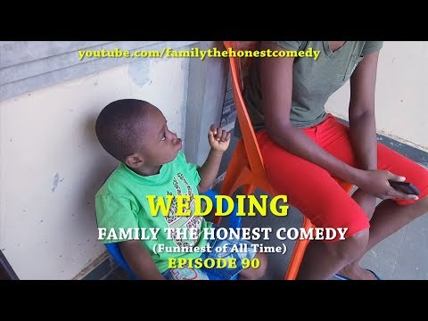 WEDDING (Family The Honest Comedy) Mark Angel Comedy like (Episode 164)