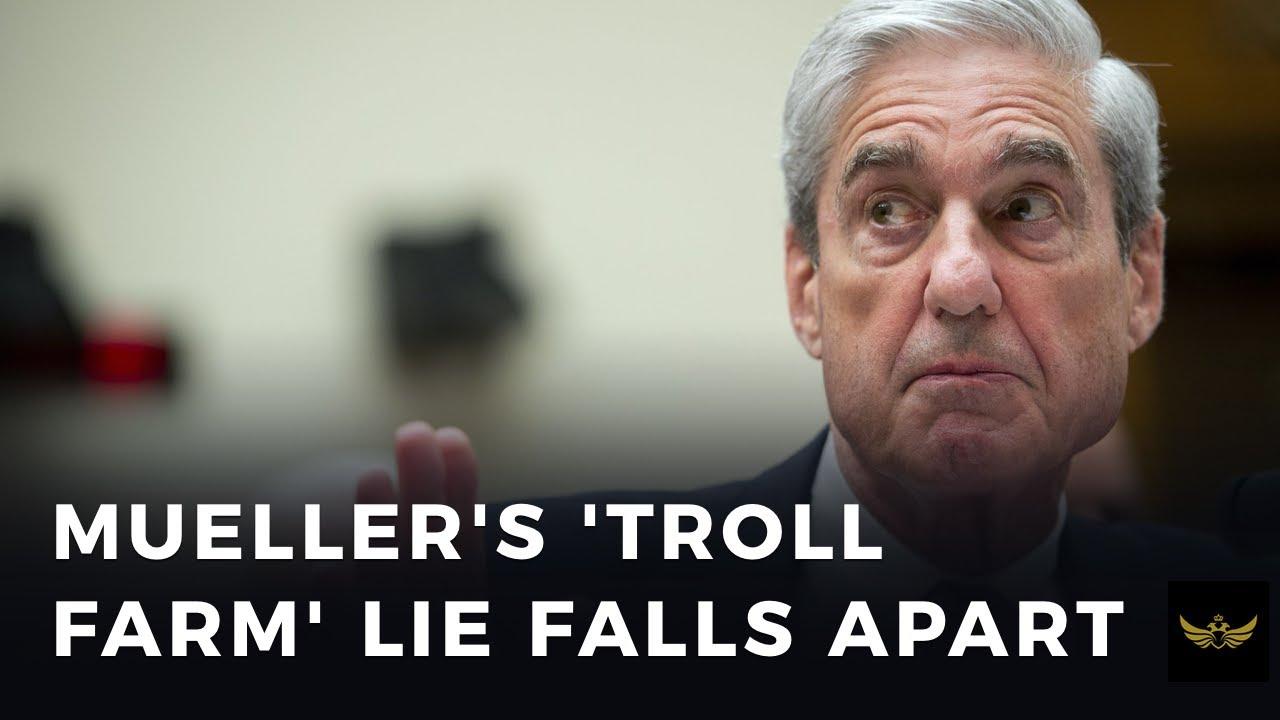 Sneaky swamp drops Mueller 'Russian troll farm' case amidst corona crisis
