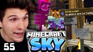 MEINE NEUE FAMILIE! ✪ Minecraft Sky #55 | Paluten