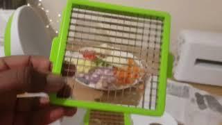 Vegetable slicer review/ Vegetable chef