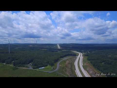 Phantom 3 Mt Storm Wind Farm