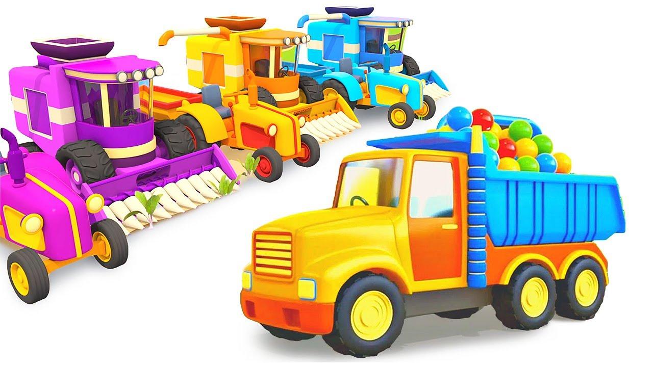 Car cartoons full episodes & car cartoon for kids - Street vehicles for kids & Cars for kids.