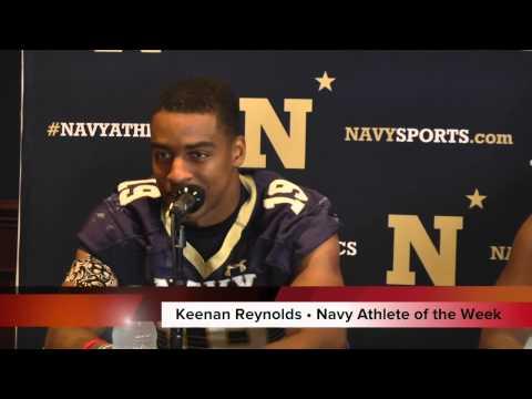 Navy Athlete of the Week - Keenan Reynolds, Football (10/25/14)