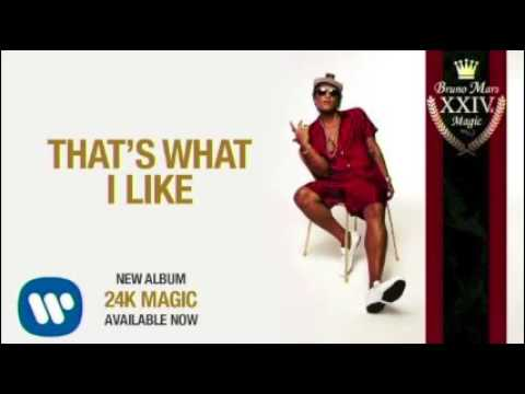 That's What I Like- Bruno Mars (Clean Version)
