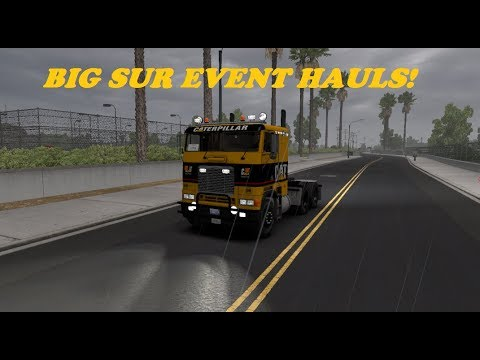 Lets Tackle This Community Event Operation Big Sur. America Truck Sim
