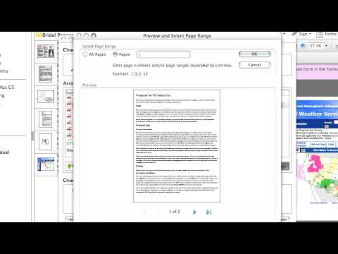 Adobe Acrobat 8 Professional:Combine: Hybrid Documents: Combining Files & Editing Bookmarks