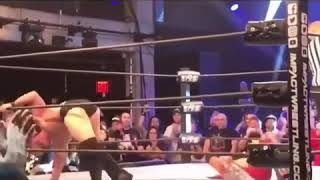 Austin Aries No Sells the finish to bound for glory and walks off 10/14/18