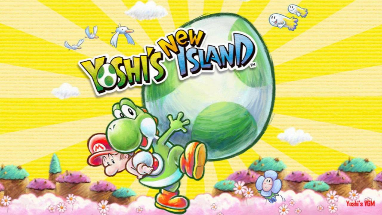 title screen  yoshi's new island ost  youtube