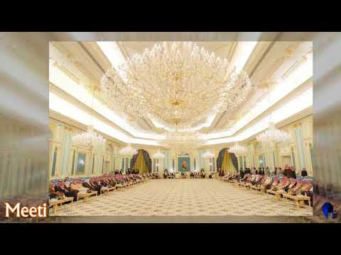 Dubai |  Saudi Arabia King Salman Real palace and cabinet outside and inside view...