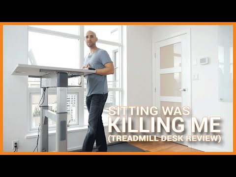 I Got A Treadmill Desk Because Sitting Was Killing Me (Treadmill Desk Review)