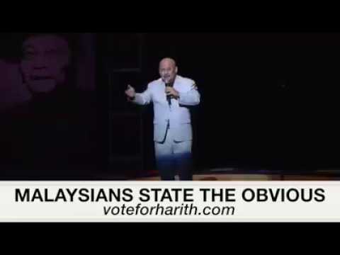 Harith Iskandar - Malaysians State The Obvious