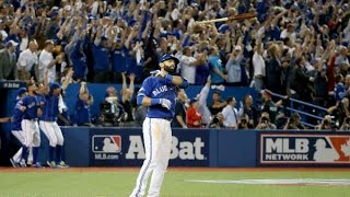 José Bautista -All Hit , Hustles Plays, Homeruns , Game Tying Hits,  in The Postseason Career So Far