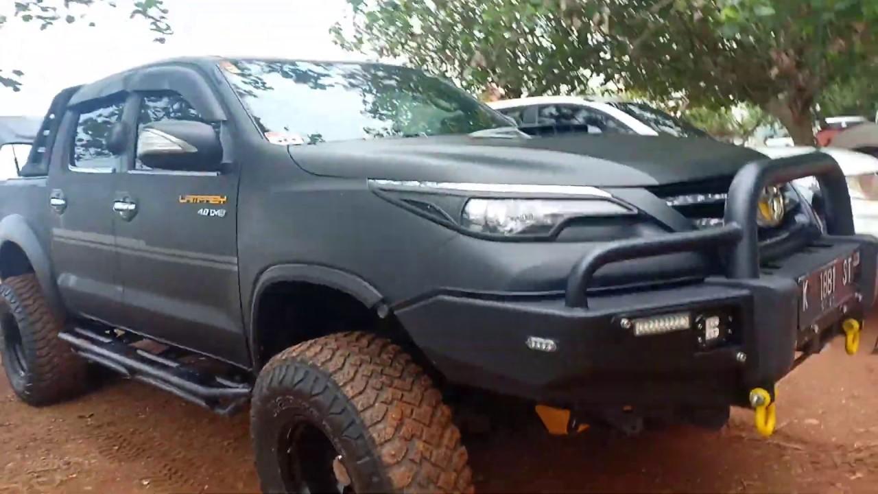 Kelebihan Toyota Hilux Offroad Spesifikasi