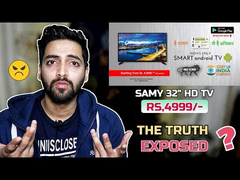 """Samy 32"""" HD TV For Rs 4,999 